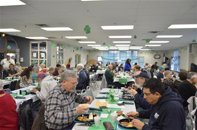 image of fundraiser st.patricks breakfast